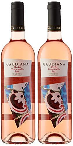 Pinord Gaudiana Rosado Vino - 750 ml - [paquete de 2]