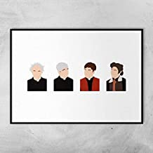 Pearl Shine Father Ted Dermot Morgan Ardal O'Hanlon Frank Kelly Gift Poster for Fan Poster Home Art Wall Posters [No Framed]