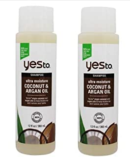 Yes to Ultra Moisture Shampoo Coconut & Argan Oil - 2 pkYes to