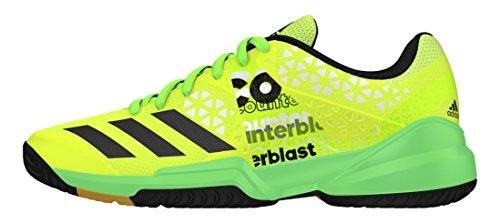 adidas Jungen Counterblast Falcon J Handballschuhe Amarillo (Amasol/Neguti/Seveso) 36 2/3 EU