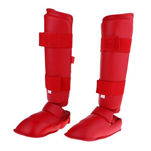 Almohadillas de Objetivo de pu/ño de Mano Flexible Sanda Taekwondo Pies de Entrenamiento Muay Thai MMA Boxeo de Mano de Karate Kung fu de Objetivo de Objetivo Rojo