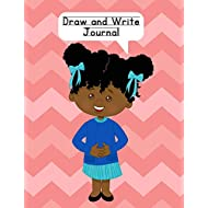 Draw and Write Journal: Composition Notebook for Kids - Paper With Primary Lines and Half Blank Space for Drawing Pictures - 140 Pages - Girl Design #3