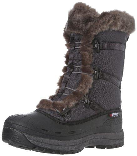 Baffin Women's Snowcloud Snow Boot,Grey/Charcoal,10 M US