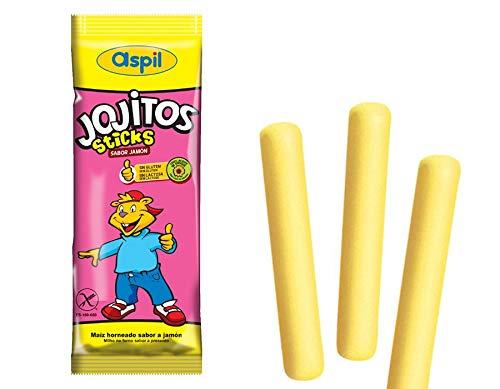 Aspil - Jojitos Sticks sabor Jamón, pack con 75 unidades