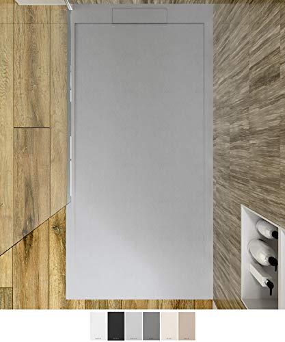 VAROBATH - Plato de ducha de Resina SYSTEM - Color Grafito -