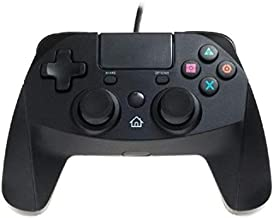 Snakebyte Game:Pad 4 S Controller Wired, for PlayStation 4, Black