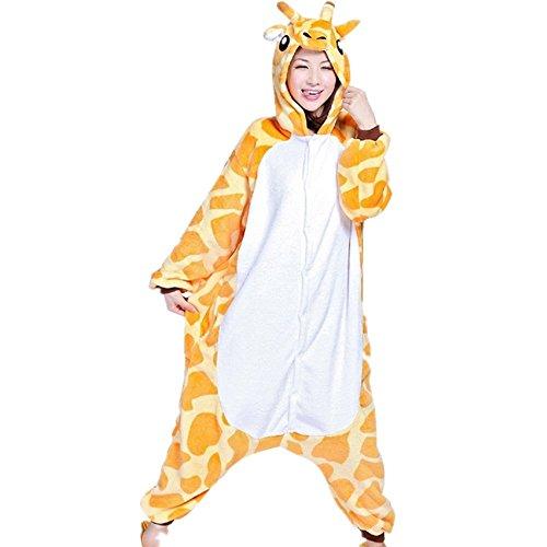 Mislight Eenhoorn Dierlijke Pyjama Slaapmode Cosplay Kostuum Pyjama Unisex Fleece Halloween