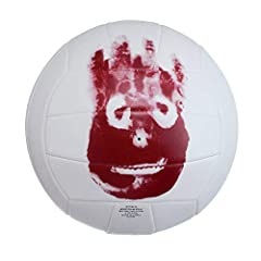 Replica of Wilson from the movie Cast Away Official Ball Size Top quality synthetic leather cover construction 18-panel machine sewn consturction for great durability