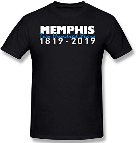 Memphis 200 jaar verjaardag mannen katoen prestaties basic korte mouw T-Shirt