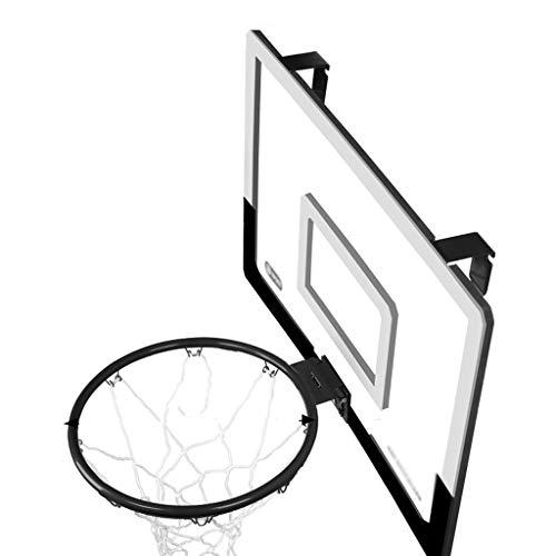 Nostalgie Puerta de Baloncesto Hoop Interior Baloncesto Hoop Set Regalos para niños niñas Adolescentes Resplandecer Accesorios Resistentes (Color : Medium 35cm)