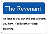 KE OU Revenant Classic Quotes Metal Vintage Tin Sign Plaque