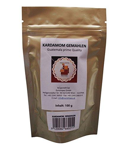 Vienna Kaffee Rösterei - Kardamom gemahlen - Guatemala prime quality (100g)