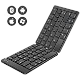 Best Foldable Keyboards - Foldable Keyboard, Number-one Folding Bluetooth Keyboard Ultra Slim Review