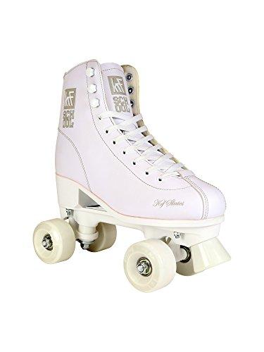 KRF Kinder School PPH Rollschuhe, Roller Figure Quad, White, 28