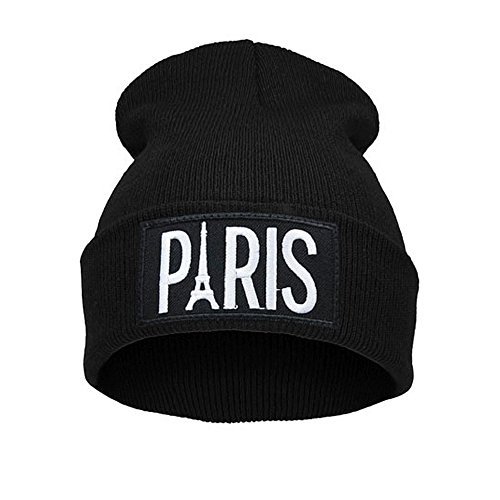 Morefaz Beanie hat Bonnet Fashion Jersay Oversize Bad Hair Day Bastard Diamond Swag Paris