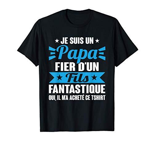 Fête Des Pères Cadeau Papa & Fils Meilleurs Amis Pour La Vie T-Shirt