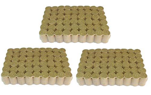 ZXJOY Pellets para ahumar apicultura de abeja, combustible natural colmena, accesorios de apicultura, 54 piezas/108 piezas/162 piezas (3/162)