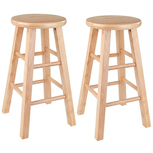 Winsome Wood Pacey Stool 24quot Natural