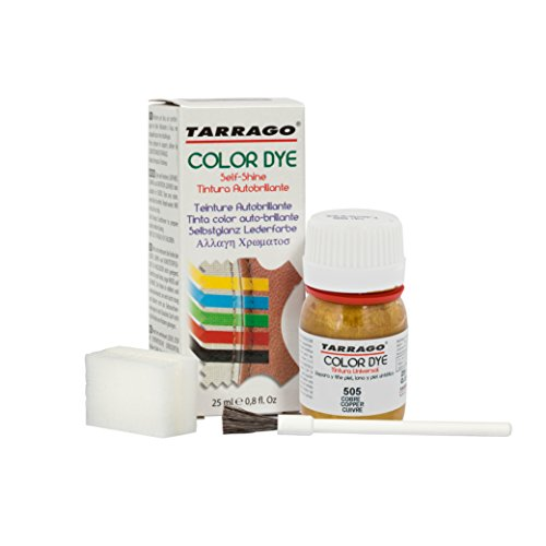 Tarrago | Self Shine Color Dye 25 ml | Tinte Para Cuero...