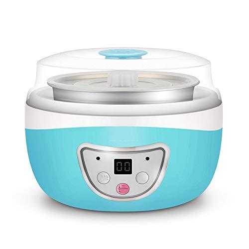 NXYJD Yogurtera eléctrica multifunción de Natto fermentador automático de Vino de arroz de la Fruta de la enzima de la máquina de Yogur de Cristal Liner