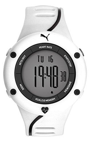 Puma Reloj Digital para Hombre de Cuarzo con Correa en Plástico PU911361004