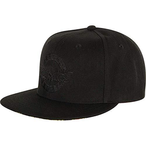 Guns N\' Roses Circle Logo Official Mens Black Baseball Cap One Size Snap Back