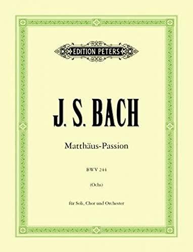 Bach Matthäus-Passion: Chorsingen - leicht gemacht,  Chorstimme Sopran