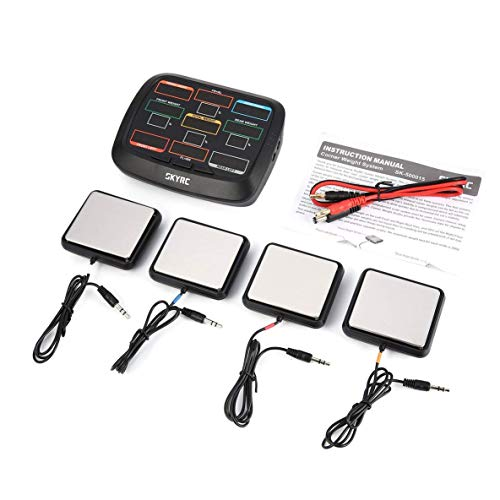 Jewellery Corner Weight RC Car Balancing Scale System Setup Kit Accessory for 1/8 1/10 1/12 RC Car Truck Buggy Off-road SK 500015 Bracelets Earrings Rings Necklaces