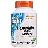 Doctor's Best Hesperidin Methyl Chalcone, Vegetarian, 500 mg, 60 Veggie Caps