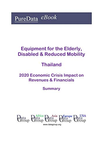 Equipment for the Elderly, Disabled & Reduced Mobility Thailand Summary: 2020 Economic Crisis Impact on Revenues & Financials (English Edition)