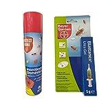 Kit de Insecticida Protect Home Domestico Rastreros y Voladores 2 x 400 ml y Protect Home Gel Anticucarachas Cebo 1 x 5 gramos