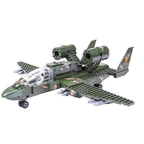 Boy Aviones Militares Reunidos Modelo de Bloques de construcción de Bricolaje Juguetes educativos para niños Regalo