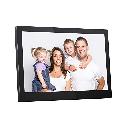 "Dragon Touch Classic 15 Digital Picture Frame, 15.6"" FHD Touch Screen WiFi Digital Photo Frame Instant Share Photos and Videos via App, Email, Cloud, Wall Mountable, Portrait and Landscape"
