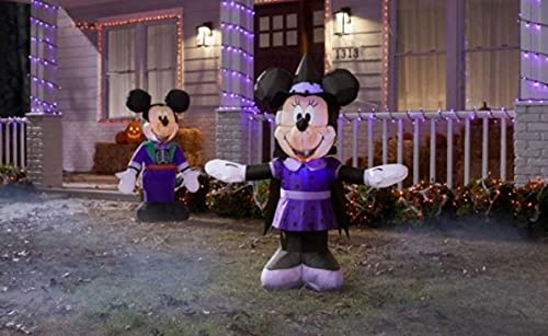 Disney Minnie Mouse in Purple Witch Costume...