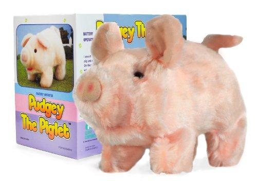 Moving Animal Joy Pudgey Piglet The Walking, Oinking, Baby Pig