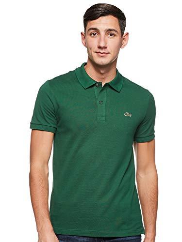 Lacoste PH4012, T-shirt Polo Uomo, Verde (Green 132), Large (Taglia Produttore: 5)