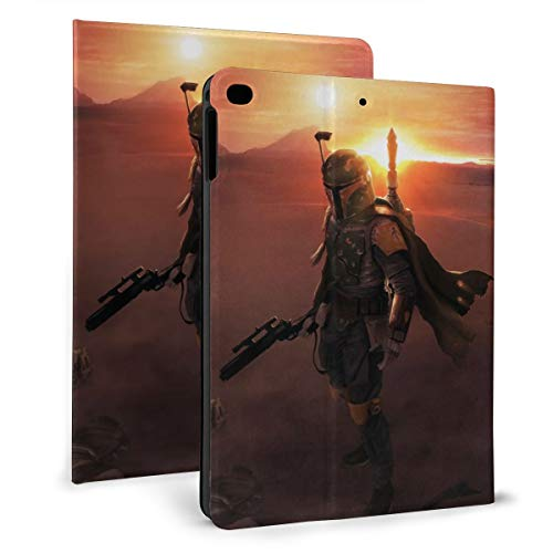 Star Wars Case Fit tablet iPad mini4/5 7.9' with Auto Sleep/Wake Ultra Slim Lightweight Stand Leather Case