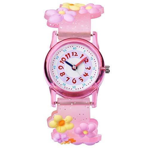 Reloj De Pulsera Infantil Niños Reloj Chica Chico Educativo niña Pequeños Joven...