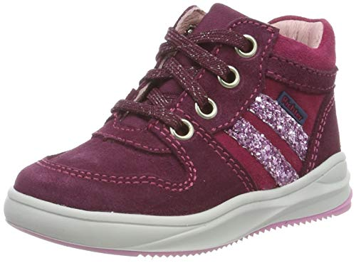 Richter Kinderschuhe Mädchen Harry Hohe Sneaker, Rot (Plum/Lampone/Candy 7302), 26 EU