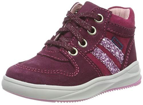 Richter Kinderschuhe Mädchen Harry Hohe Sneaker, Rot (Plum/Lampone/Candy 7302), 20 EU