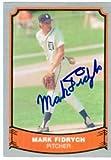 Mark Fidrych autographed Baseball Card (Detroit Tigers) 1988 Pacific Baseball Legends #62