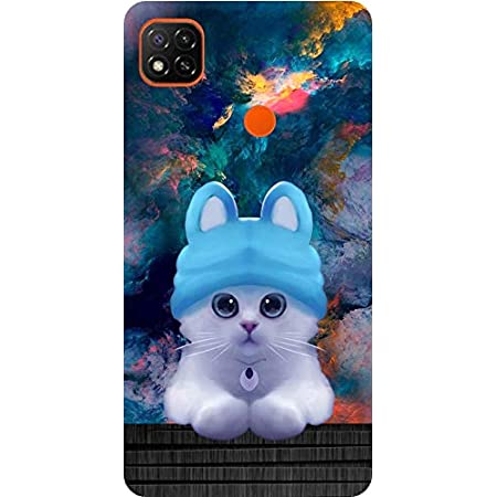 Amagav Printed Soft Silicone Designer Pouch Mobile Back Cover for Redmi 9 & Xiaomi Redmi 9C Case and Covers | for Boys & Girls - Design164
