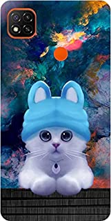 Amagav Printed Soft Silicone Designer Pouch Mobile Back Cover for Redmi 9 & Xiaomi Redmi 9C Case and Covers | for Boys & G...