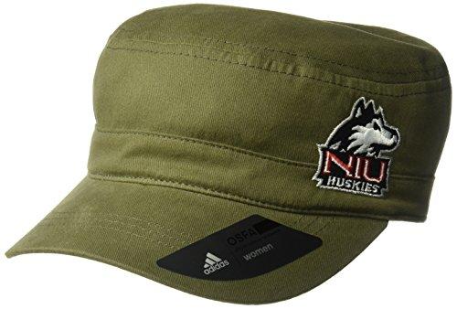 Adidas - Cappello militare da donna, colore: Verde militare, Donna, Cappello militare verde militare, Y515W ARG, Oliva, Taglia unica