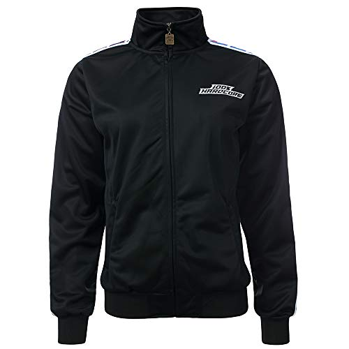 100% Hardcore Ladies Trainingsjacke Sport, Black Gabbergirls (L)