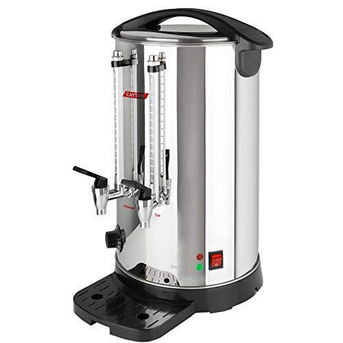 Caytime A12 Isoliert Doppelwand Teeautomat Teemaschine Samowar Teeautomat Teezubereiter Semaver Teekocher 12 L