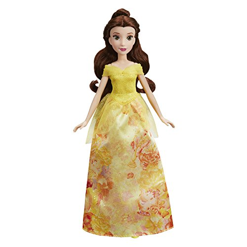 Disney Princess-E0274 Bella Brillo Real, Multicolor. (Hasbro E0274)