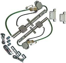 AutoLoc Power Accessories 9848 2 Door Flat Power Window Kit U-Wire Driver or Passenger