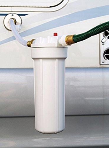 Culligan RVF-10 Recreational Vehicle (RV) External Water Filter, White, 250 Gallon