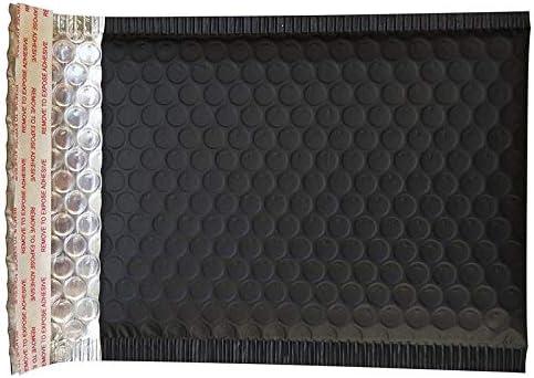 Buble Wraps 60Pcs 150 x 180mm Mattschwarze Luftpolsterumschl/äge Taschen Mailer Gepolsterter Versandumschlag mit Luftpolsterfolie Aluminiumfolienbeutel Schwarz